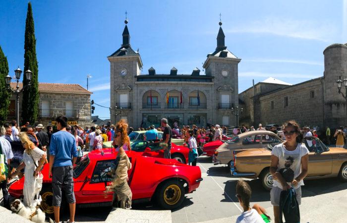 Alpedrete se llena de coches clásicos en el Festival Stone